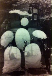 Fig. 11- © José de Guimarães, Papagaio D. Sebastião, Himeji, Tokyo, 1989.