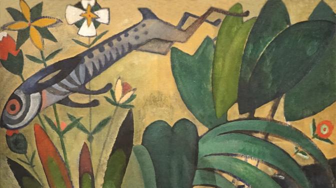 AMADEO DE SOUZA-CARDOSO, «LE SAUT DU LAPIN»